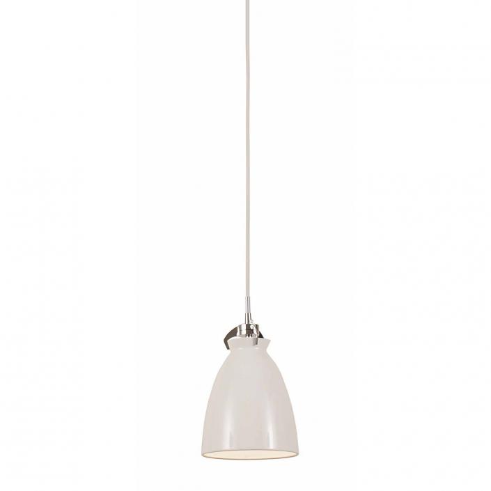 Funktionel pendel i hvid til spisebordet eller køkkenet hos VillaMax.