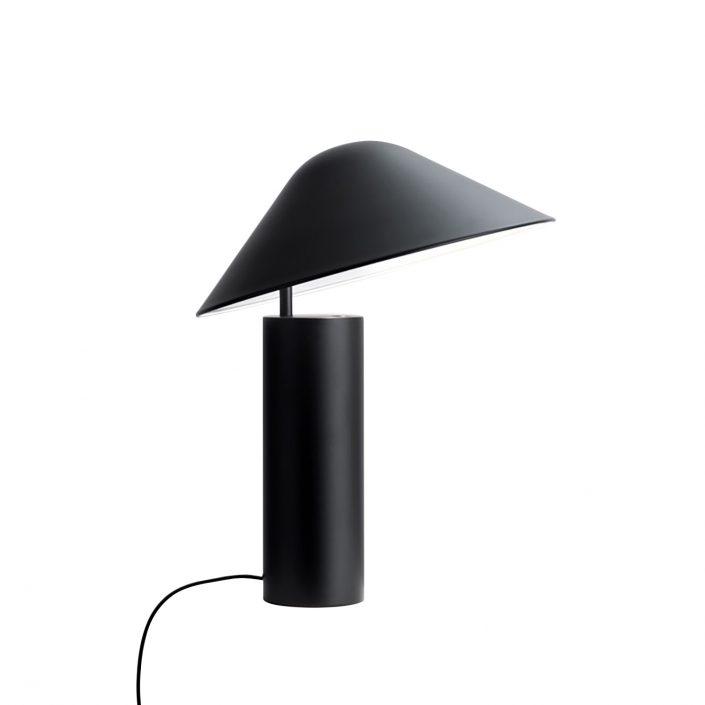 Sort bordlampe fra VillaMax.dk