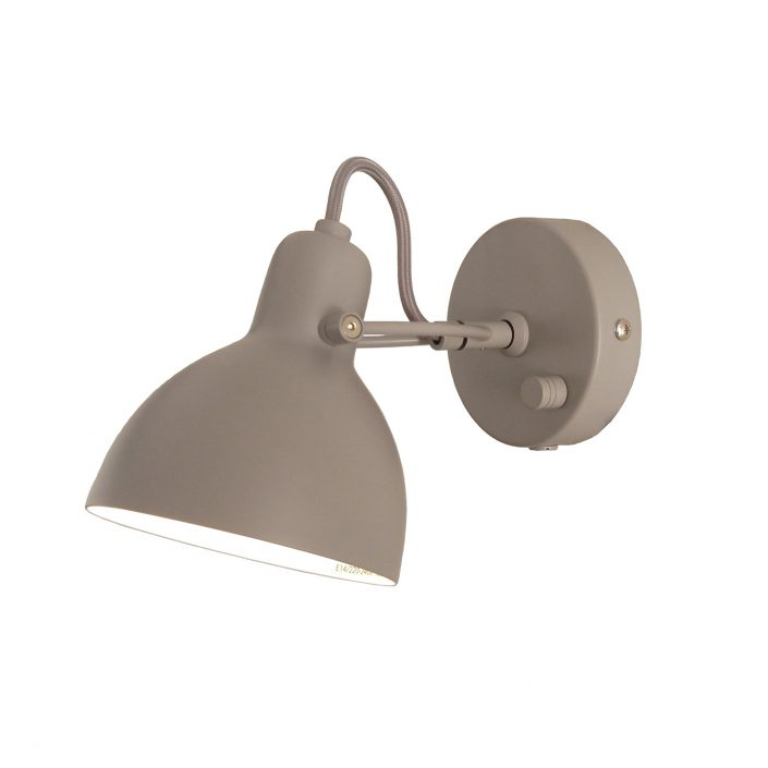 Foucs mini væglampe grå fra VillaMax