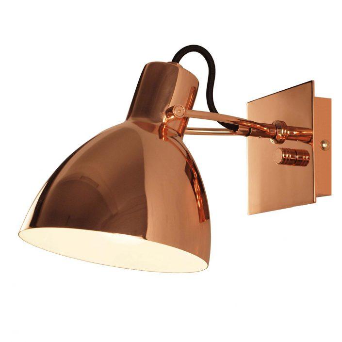 Focus væglampe kobber fra VillaMax.dk