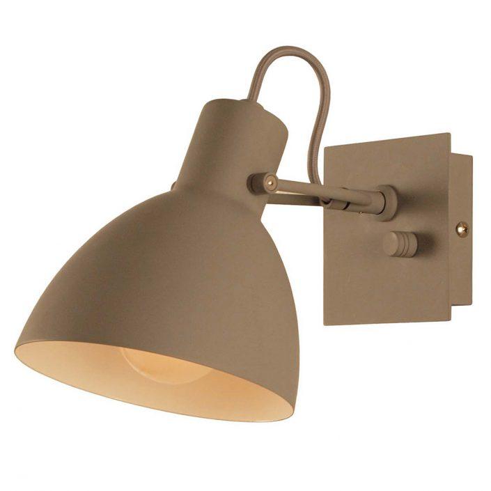 Focus grå væglampe fra VillaMax.dk