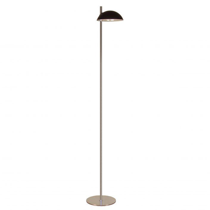 Sort gulvlampe til stuen fra VillaMax.dk