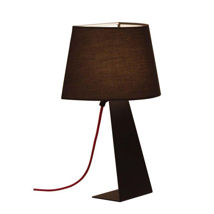 Donna sort bordlampe fra VillaMax.dk