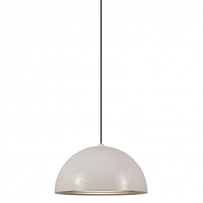 Loftlampe halvmåne hvid fra VillaMax.dk