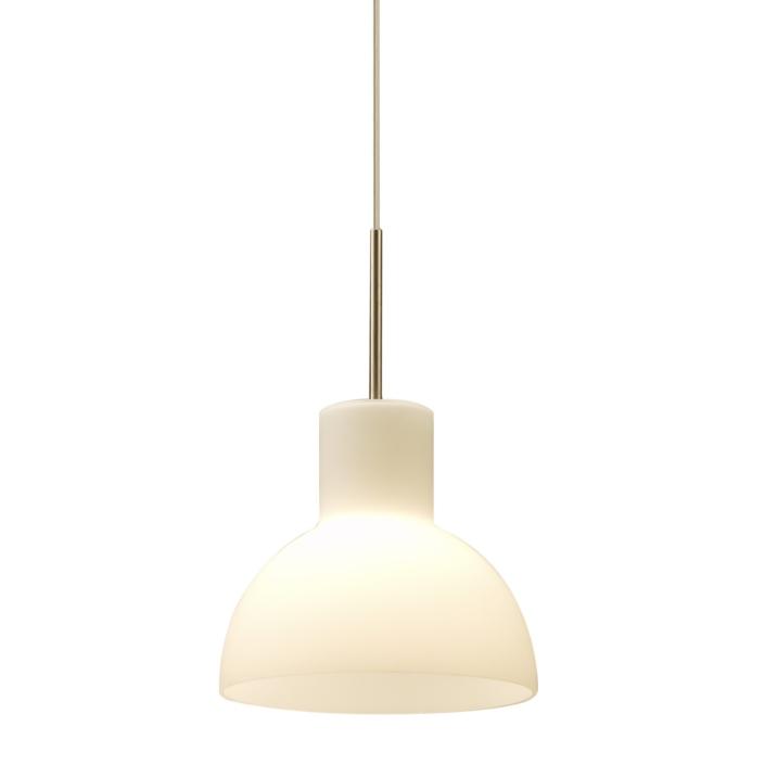 Hvid glaslampe fra VillaMax.dk