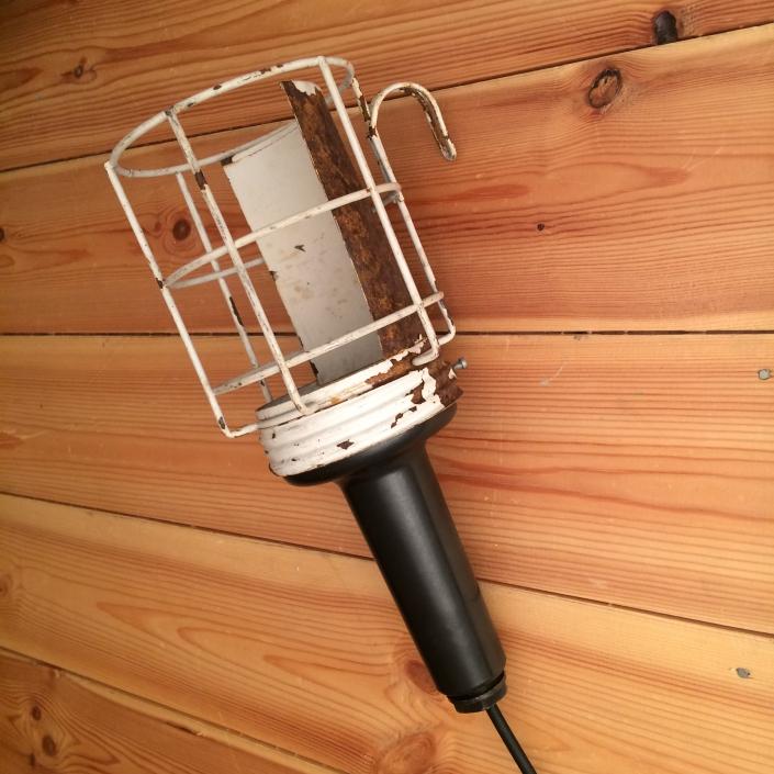 Vintagelampe til loft eller væg